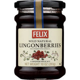 Felix Lingonberries Jam, 10 oz, small Jar - Parthenon Foods