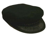Greek Fisherman Hat, Black Wool (Choose a Size) - Parthenon Foods