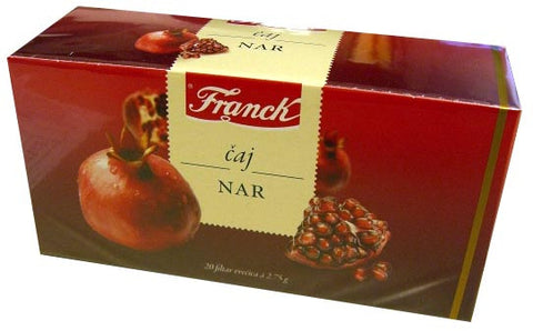 Pomegranate Tea, Nar (Franck) 55g - Parthenon Foods