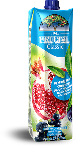Black Currant Pomegranate Drink (Fructal) 1L - Parthenon Foods
