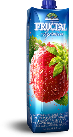 Strawberry, Apple, Grape Nectar (fructal) 1L - Parthenon Foods