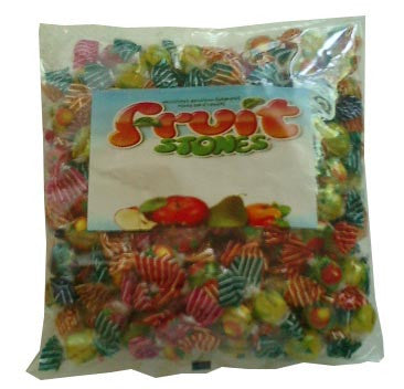 Fruit Stones - Assorted Fruit Candies, 1 lb (454g) - Parthenon Foods