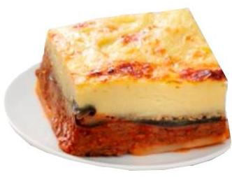 Moussaka Entree, 6lb tray - Parthenon Foods