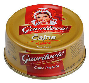 Tea Pork Pate (Gavrilovic) (3.53oz)100g Can - Parthenon Foods