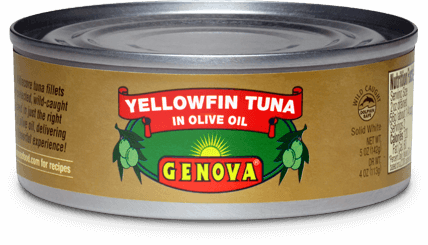 Genova Tuna in Olive Oil, 142g (5oz) - Parthenon Foods