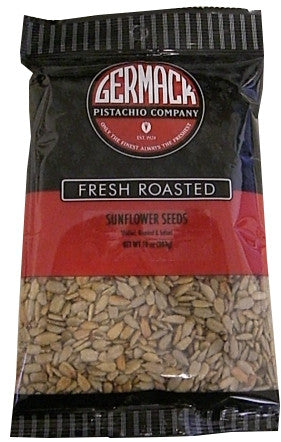 Sunflower Seeds, Shelled (Germack) 10 oz (283g)-New Pack - Parthenon Foods
