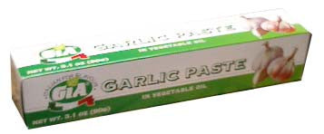 Garlic Paste (Gia) 3.1oz (90g) - Parthenon Foods
