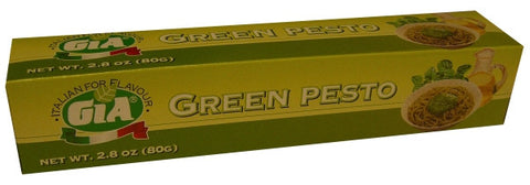 Green Basil Pesto Paste (GIA) 2.8 oz (80g) - Parthenon Foods
