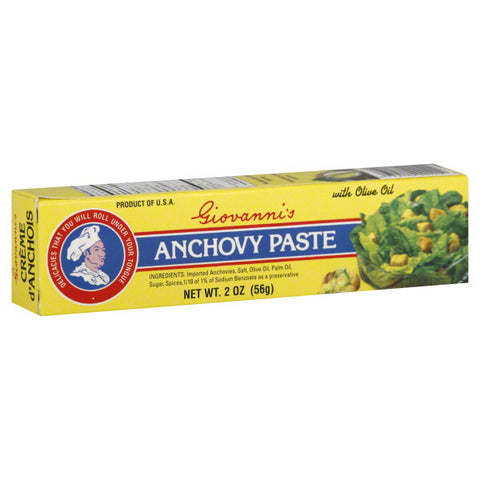 Anchovy Paste (Giovannis) 2oz (56g) - Parthenon Foods