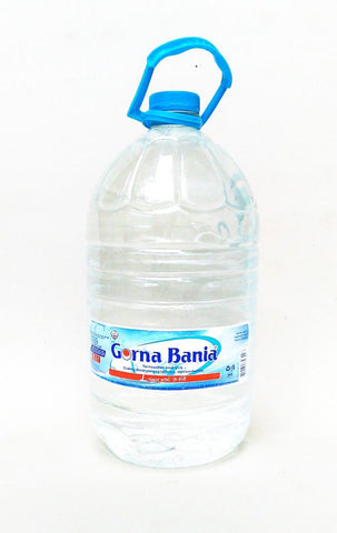 Gorna Bania Bulgarian Mineral Water, 8 L plastic bottle - Parthenon Foods