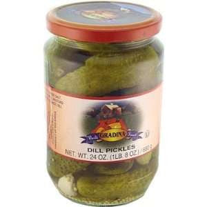 Dill Pickles (Gradina) 24oz - Parthenon Foods