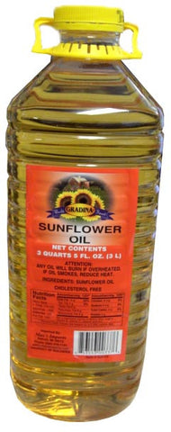 Sunflower Oil - Gradina, 3L - Parthenon Foods