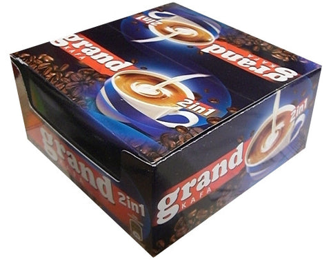 Grand Kafa 2 in 1 CASE (20 x 12.5g) - Parthenon Foods