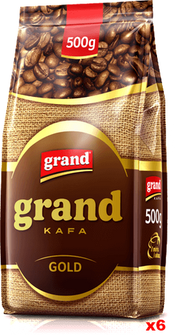 Grand Kafa GOLD, CASE (6 x 500g) - Parthenon Foods