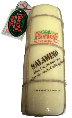 Provolone Cheese, Salamino LOG (Grande) approx. 2 lbs - Parthenon Foods