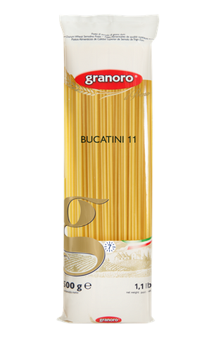 Bucatini Pasta No. 11 (Granoro) 16 oz (454g) - Parthenon Foods