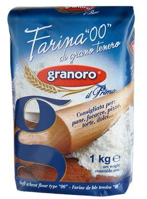 Farina Soft Wheat Flour (Granoro) 1000g - Parthenon Foods