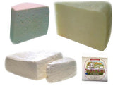 Greek Cheeses 4pc 2lb(Kefalotiri, Kasseri, Manouri, Feta) 0.5lb each - Parthenon Foods