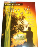 Greek Cuisine Olive Oil (166 recipes) - Parthenon Foods