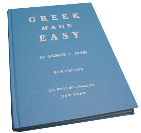Greek Made Easy Book - New Edition (Blue Hard Cover) - Parthenon Foods