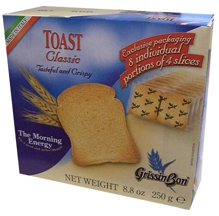 Toast Rusks Traditional (GrissinBon) 250g - Parthenon Foods