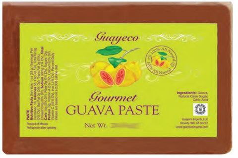 Gourmet Guava Paste (Guayeco) 8 oz -All Natural - Parthenon Foods