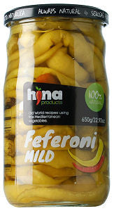 Feferoni Peppers-Mild (HINA) 720ml - Parthenon Foods