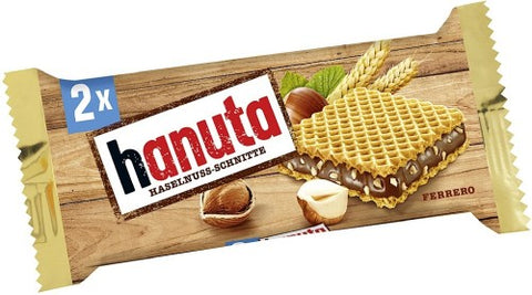 Hanuta Wafers Filled with Hazelnut Creme (2s) - Parthenon Foods