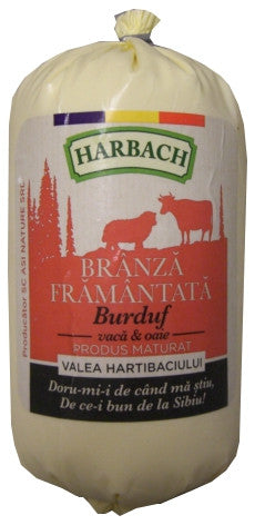 Branza De Burduf Romanian Cheese (Harbach) approx. 1lb - Parthenon Foods  - 1