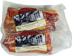 Smoked Pork Bacon (Harczaks) approx. 1.0-1.3lb - Parthenon Foods
