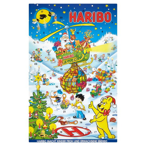 Advent Calendar (HARIBO) 300g - Parthenon Foods