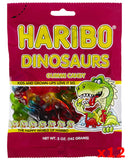 Haribo Dinosaurs Gummi Candy, CASE (12 x 5 oz Bags) - Parthenon Foods