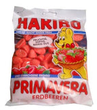 Haribo Soft Strawberry Candy, Primavera, 200g - Parthenon Foods
