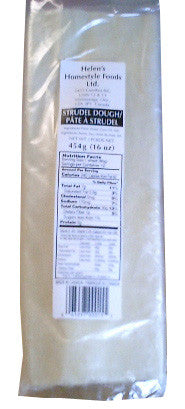 Strudel Dough (Helens) 24 oz (700g) - Parthenon Foods