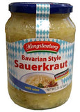 Bavarian Style Sauerkraut with Wine, 24 oz (680g) - Parthenon Foods