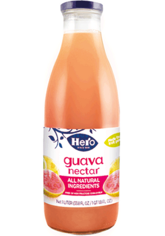 Guava Nectar (Hero) 1L - Parthenon Foods