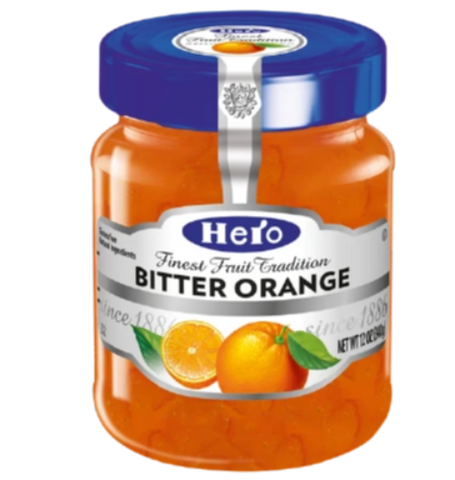 Hero Orange Marmalade, Bitter, 12 oz (340g) - Parthenon Foods