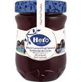 Hero Black Currant Fruit Spread, 12 oz - Parthenon Foods