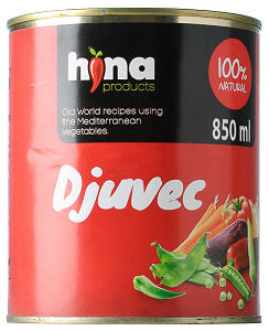 Djuvec Vegetable Stew (HINA) 850ml - Parthenon Foods