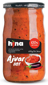Ajvar HOT (HINA) 690g - Parthenon Foods