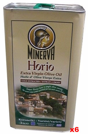 Extra Virgin Olive Oil - Horio, CASE (6 x 3 L) - Parthenon Foods