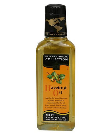 Hazelnut Oil (Int.Col.) 8.45 fl oz (250ml) - Parthenon Foods