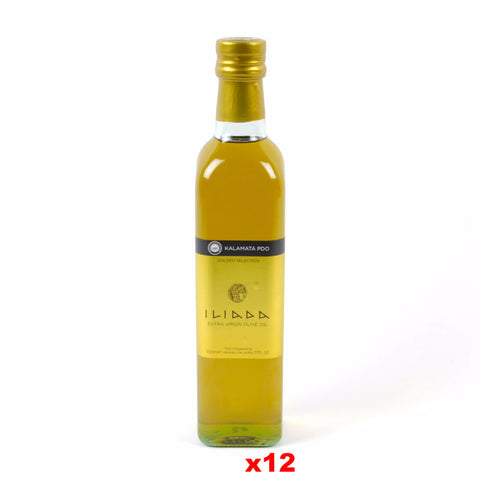 Kalamata Extra Virgin Olive Oil (Iliada) CASE (12 x 500ml (17 oz)) - Parthenon Foods