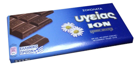 Dark Chocolate, Ugeias (ION) 3.5oz (100g) - Parthenon Foods