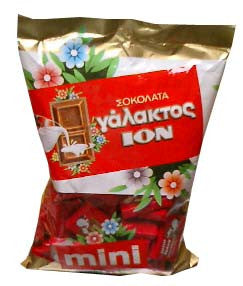 Mini Milk Chocolate (ION) 400g - Parthenon Foods