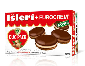 Isleri with Eurocrem Cookies (Takovo) 250g - Parthenon Foods
