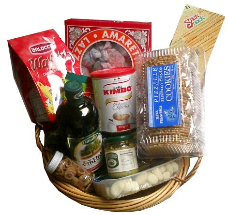 Little Italy Italian Gift Basket 11pc - Parthenon Foods