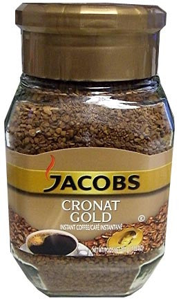 Jacobs CRONAT GOLD Instant Coffee, 200g jar - Parthenon Foods