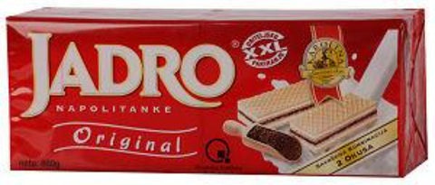 Jadro Filled Wafers, 860g - Parthenon Foods