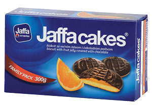 Jaffa Cakes - Orange, 300g - Parthenon Foods